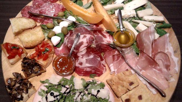 Deliziosa cena in borgo medioevale a due passi da Assisi