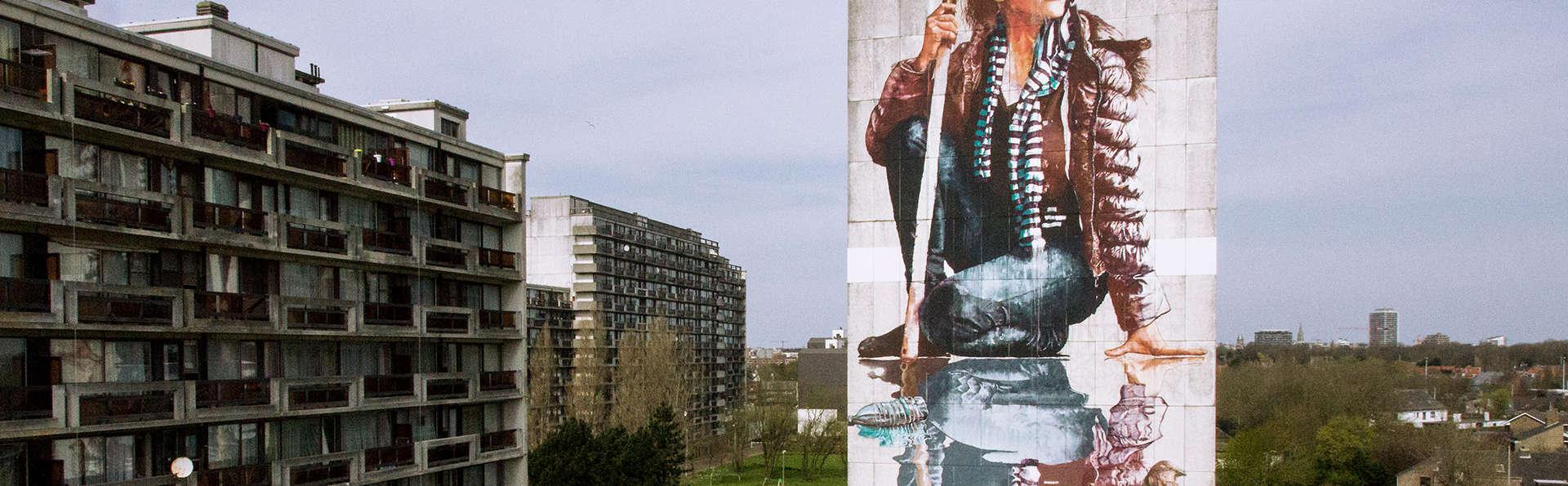 Profitez d'un bol d'air frais sur la côte d'Ostende avec le Street Art Tour