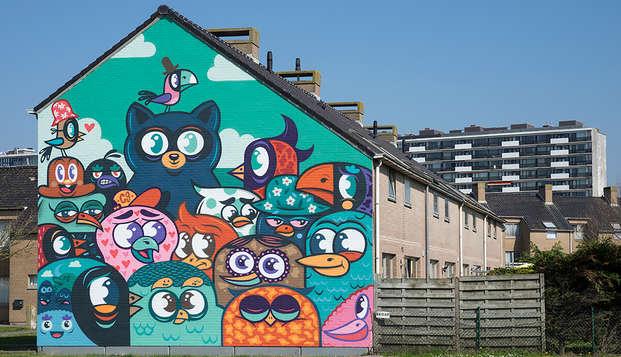 Découvrez le surprenant art de rue d'Ostende (3 nuits pour le prix de 2)