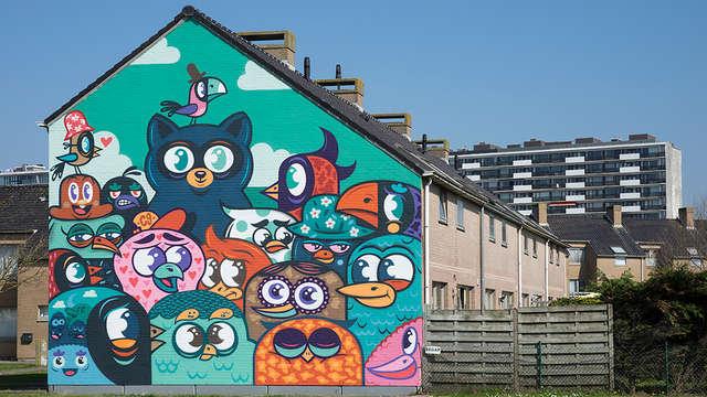 Ontdek de Street Art van Oostende (3 nachten voor de prijs van 2)