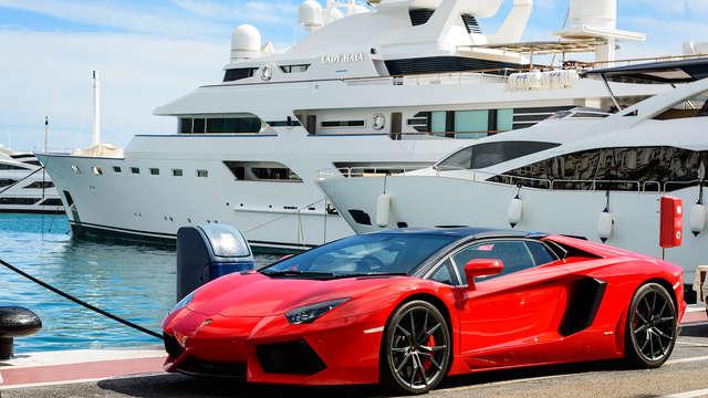 Escapade à Monaco avec location de voiture de luxe