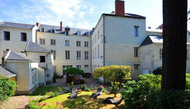 Cadre d'époque dans une demeure située sur les quais de la Loire
