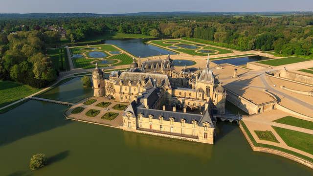 Geniet van een luxe, koninklijk en sprookjesachtig weekend op het Landgoed van Chantilly