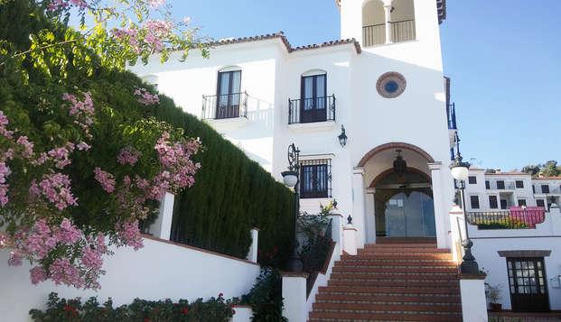 Escapada con encanto: desayuno y vistas panorámicas a la Sierra Norte de Sevilla