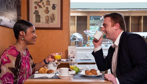 Mercure Paris Roissy CDG - breakfast