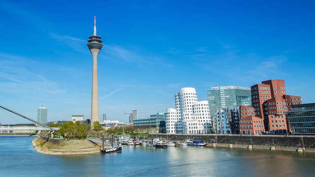 SPECIAL OFFER: Wellness en comfort in de Privilege Suite in de prachtige stad Düsseldorf