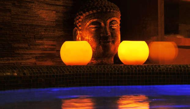 Mini-vacances spécial détente: profitez d'un séjour bien-être dans un 4* avec accès au spa
