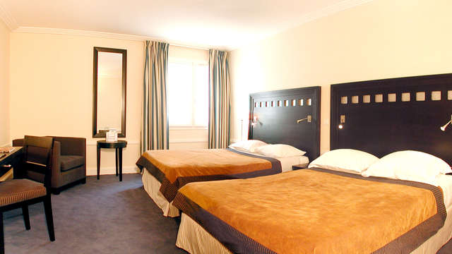 Confort 4* à Biarritz en chambre famille