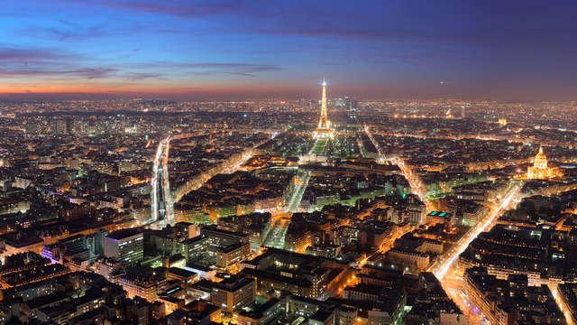 Week-end romantique avec champagne en chambre à Paris