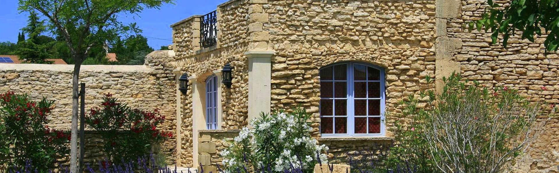 Week-end de charme en plein coeur des vignobles près du Pont du Gard
