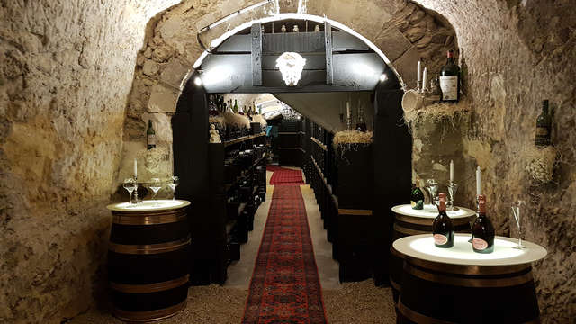 Chateau de Beauvois - cellar