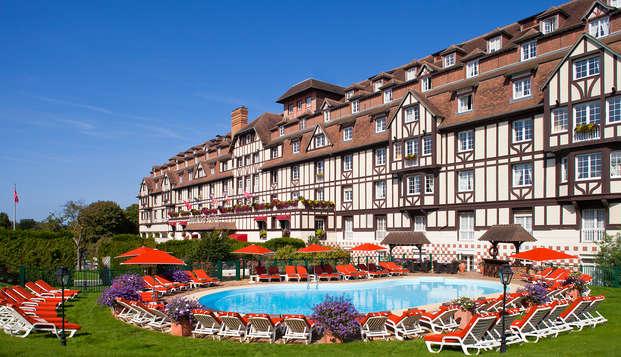Week-end détente chambre supérieure vue Mer à Deauville