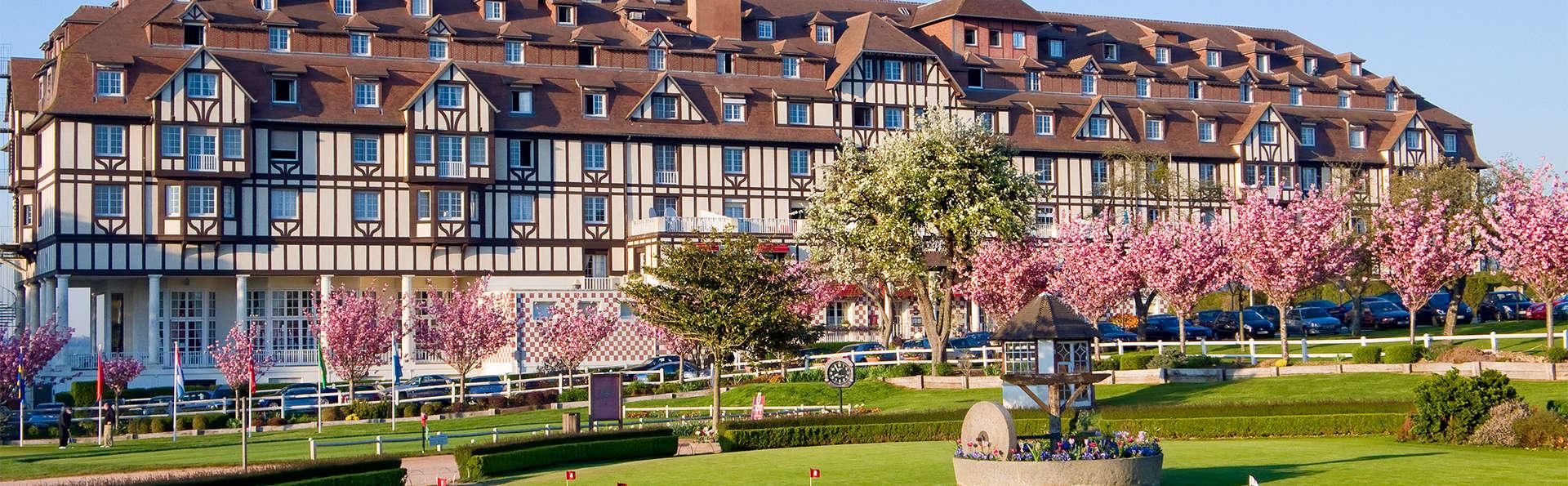 Week-end détente en chambre supérieure vue Mer à Deauville (Non annulable, Non remboursable)