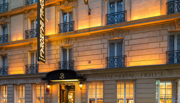 Hotel Balmoral Champs-Elysees - front