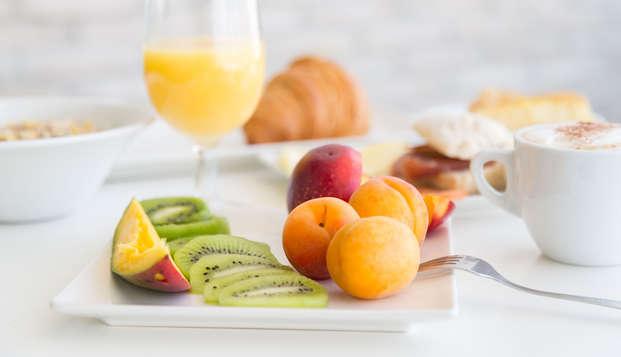 Hotel Patio de la Alameda - breakfast