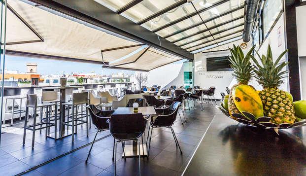 Hotel Patio de la Alameda - terrace