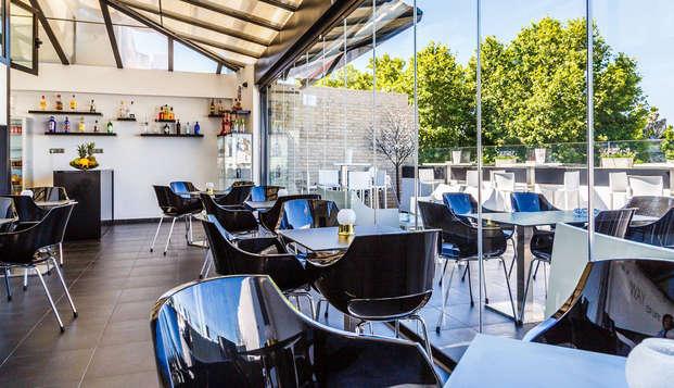 Hotel Patio de la Alameda - restaurant