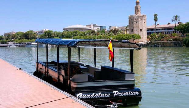 Visita la maravillosa Sevilla paseando por el Guadalquivir