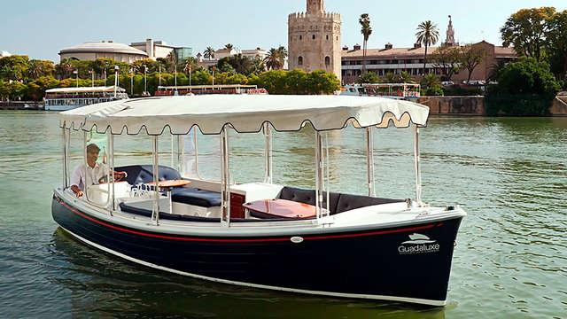 Escapada cultural con crucero por el Guadalquivir ¡Descubre Sevilla!