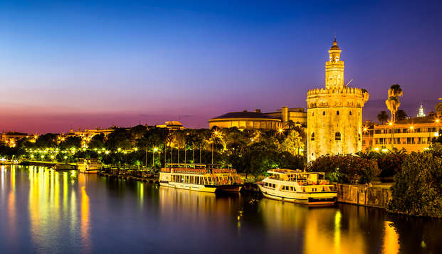 Romance avec croisière semi-privée sur le Guadalquivir