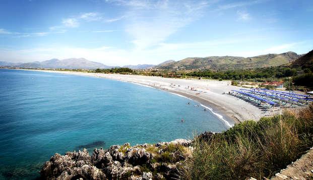 Prenota prima e risparmia! In camera tripla sul mare della Calabria