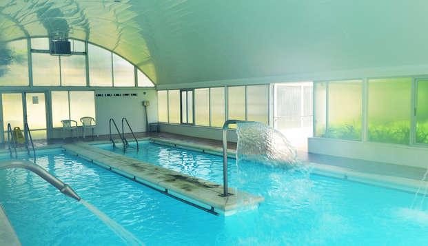 Escapada con acceso a la piscina termal entre la naturaleza de Cantabria
