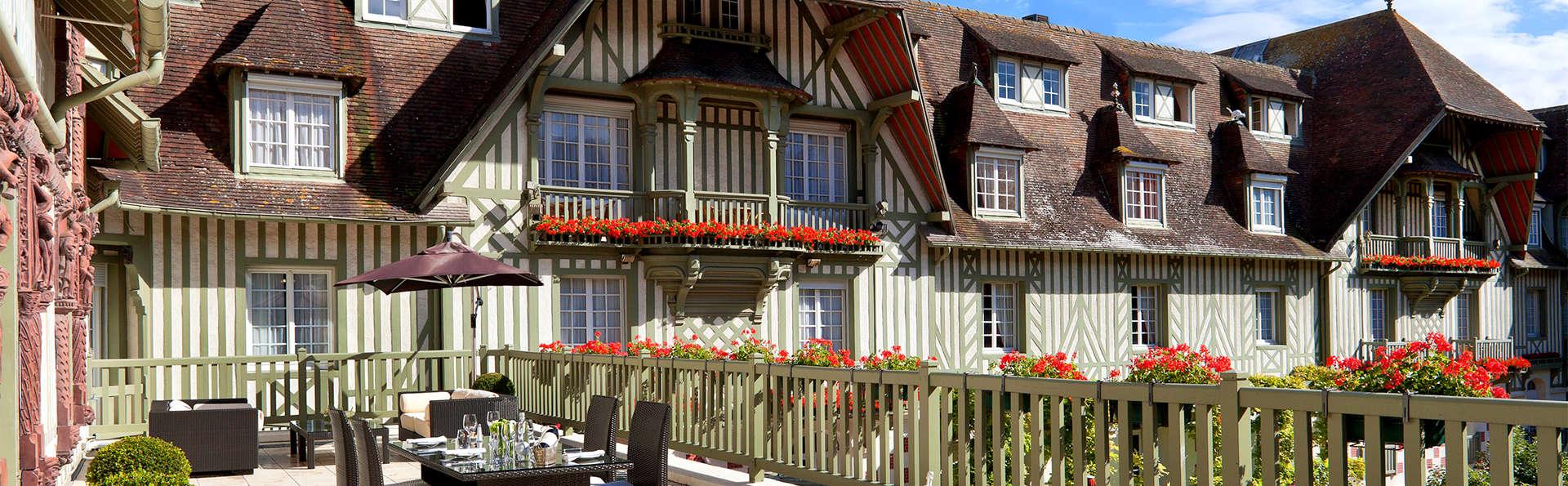 Séjour détente en chambre deluxe à Deauville