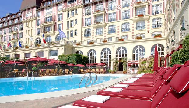 Week-end détente en chambre supérieure à Deauville (Non annulable, Non Remboursable)