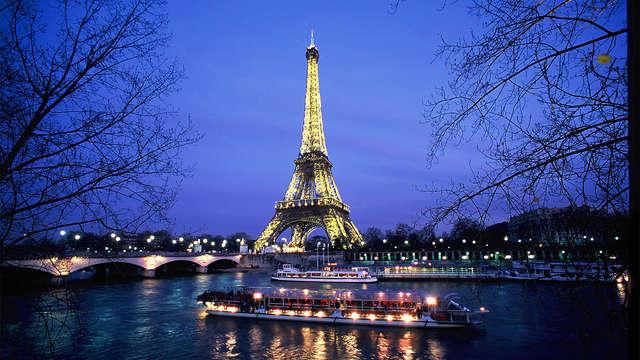 Découverte de la capitale avec croisière sur la Seine