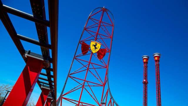 Especial Aventura: descubre nuevo parque Ferrari Land y Port Aventura  (desde 2 noches)