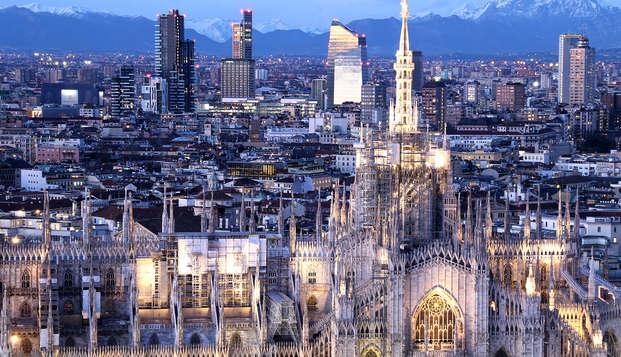 Week-end en suite dans un hôtel situé en plein coeur de Milan