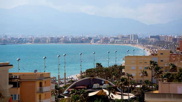 Escapada a Palma de Mallorca en hotel bien ubicado con el aeropuerto