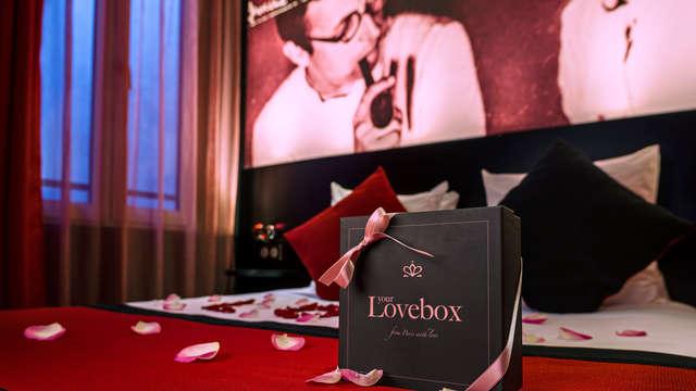 Week-end romantique à Paris avec Lovebox et champagne