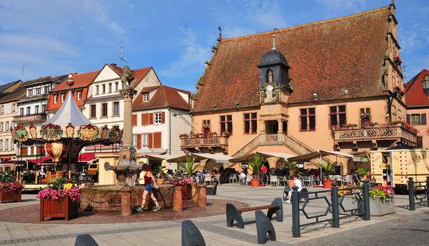 Week-end en famille à Molsheim