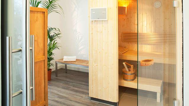 Accès au sauna