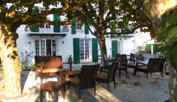 Escapada con cena al corazón del País Vasco francés, cerca de Saint-Jean-de-Luz