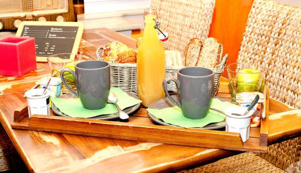 Hotel restaurant La Pecherie - breakfast
