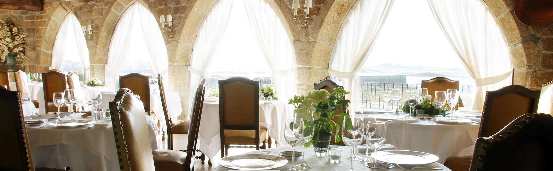 Week-end avec dîner gastronomique et accès spa à Roscoff