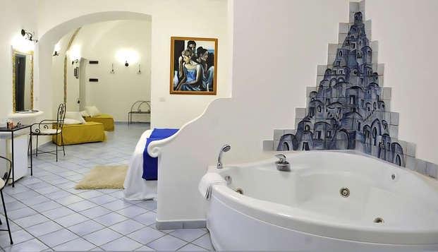 Chambre exécutive avec hydromassage à Positano