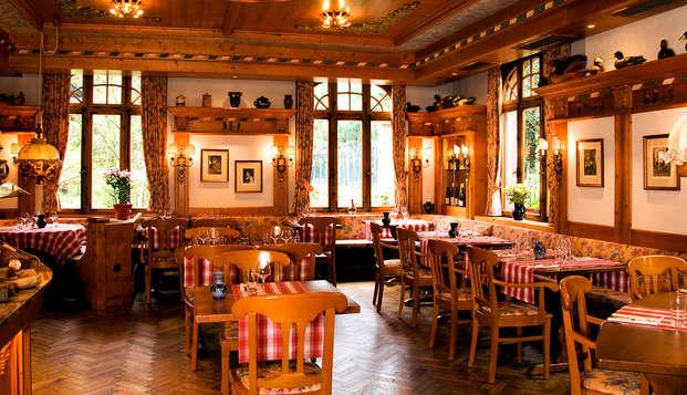 Week-end avec dîner à proximité des thermes et du casino de Niederbronn