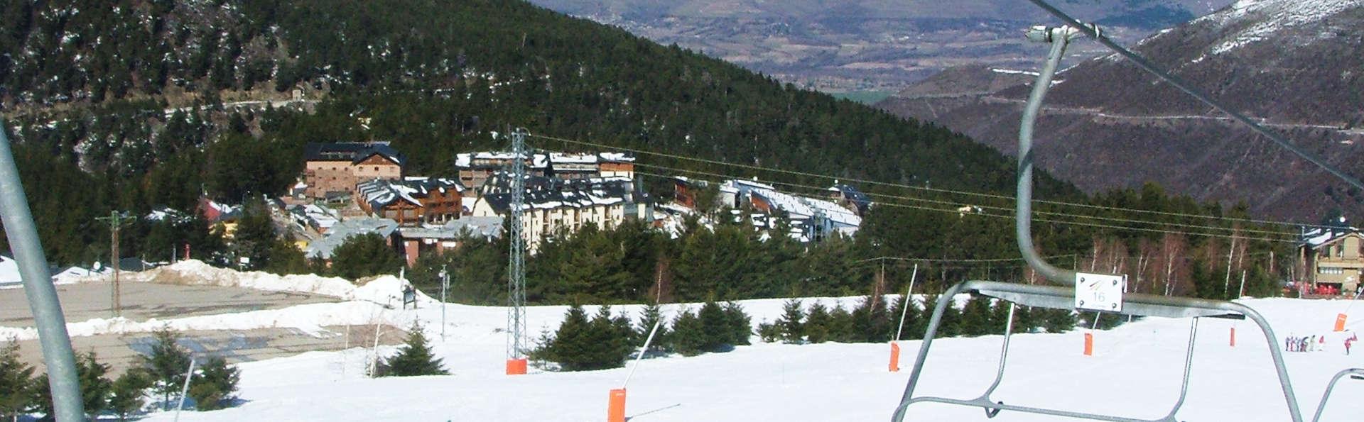 Especial esquí con media pensión en La Masella