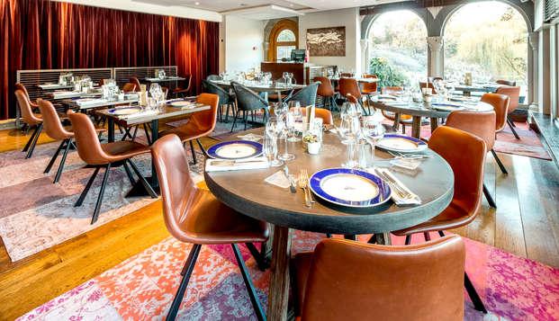 Culinair & ontspannend  genieten in 5* luxe nabij Brussel (vanaf 2 nachten)