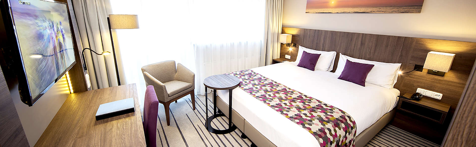 Descansa en una habitación Deluxe en Scheveningen