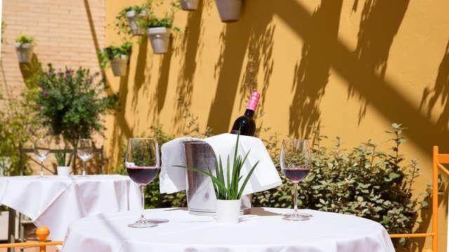 Saveurs d'Almería : 4* dans une ville de patrimoine et menu dégustation avec parking inclus