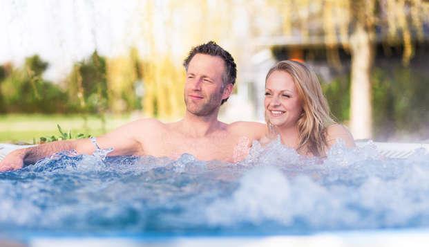 Ontspanningsweekend met toegang tot de wellness op de Veluwe