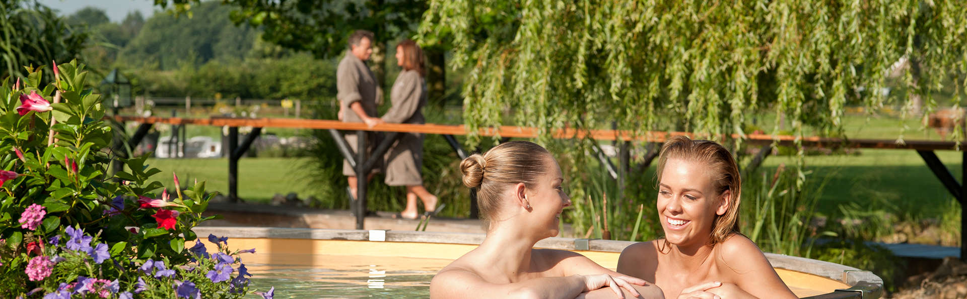 Pure ontspanning in wellnessresort de Zwaluwhoeve