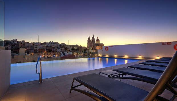Plezierige vakantie op het prachtige eiland Malta (vanaf 3 nachten)