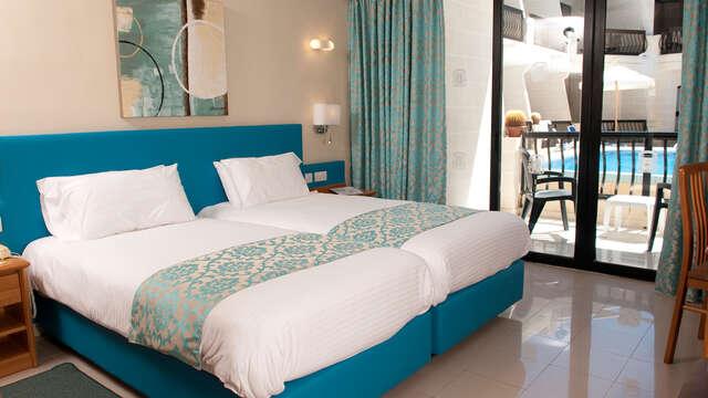 4 overnachtingen in een standaard twin kamer met stadszicht voor 2 volwassenen
