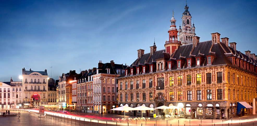 Culinair weekend lille rijsel met 1 diner 3 gangen voor for Lille 2 webmail