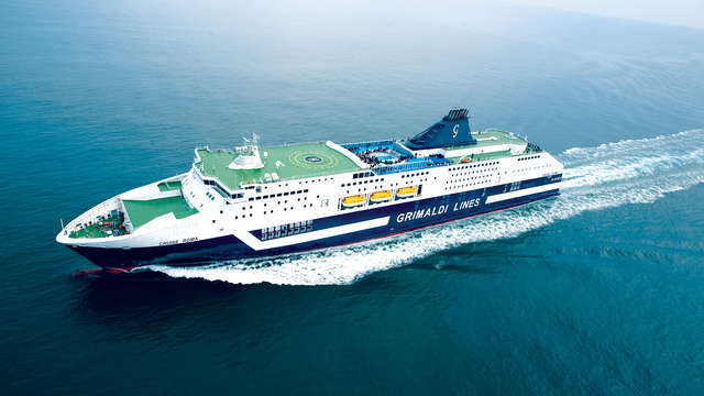 viaggio di ritorno in nave da Olbia a Civitavecchia